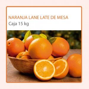 Caja Naranja Lane Late de Mesa (15 kg)